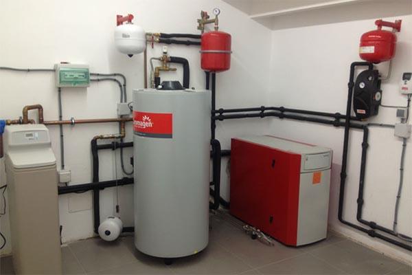 installation chaudière et boiler